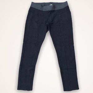 💫4/30 AMERICAN RAG Thick Black Cropped Leggings